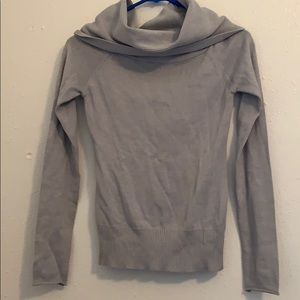 Nasty Gal grey cowl neck sweater